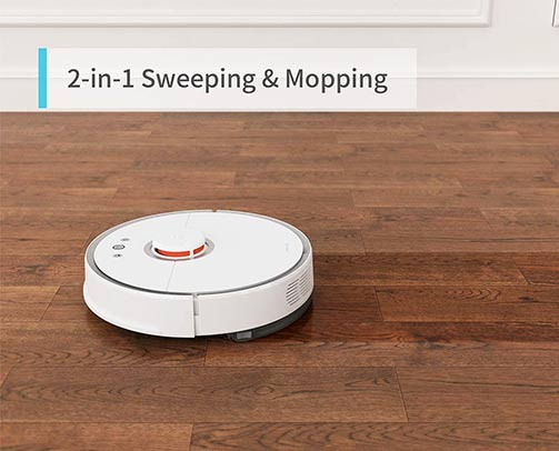 Roborock S Models Dry and Wet Mopping